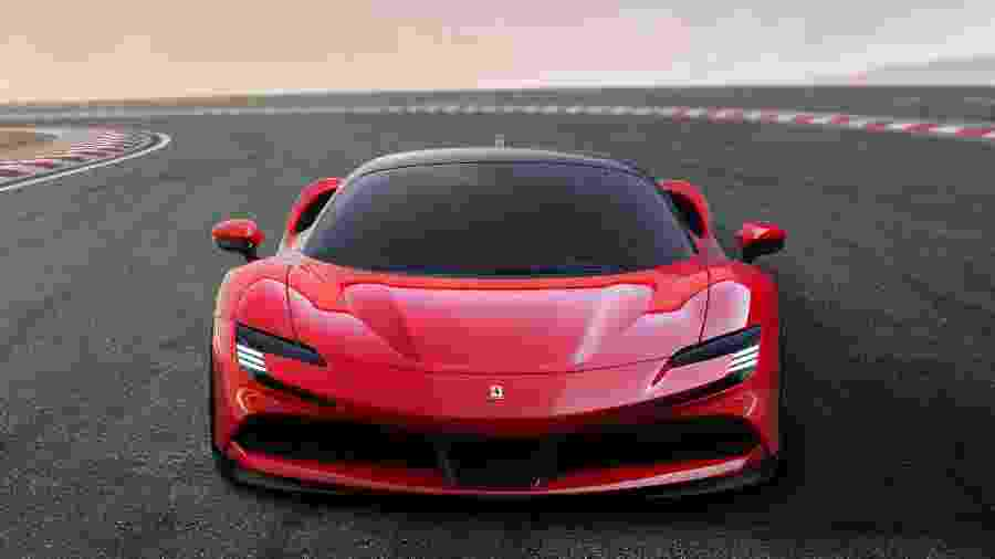 Ferrari SF90 Stradale  - Ferrari/Handout via REUTERS