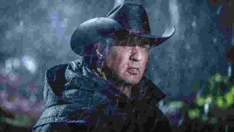 Sylvester Stallone em cena de Rambo: Até o Fim - Divulgação
