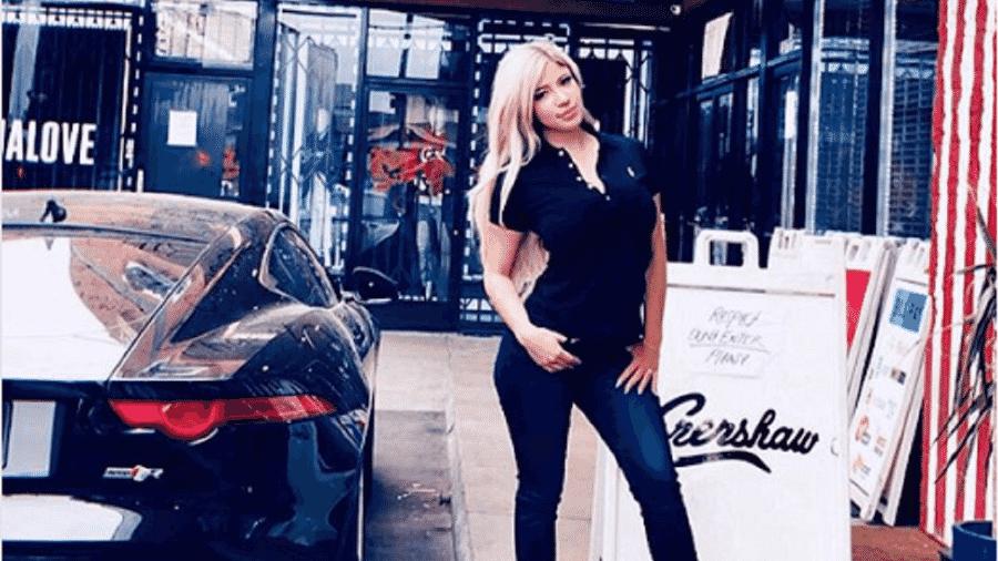 Atriz pornô e modelo, Esmeralda Gonzalez tinha mais de 300 mil seguidores no Instagram - Reprodução/Instagram