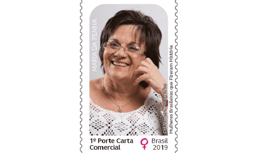 Correios homenageiam Maria da Penha com selo especial - Cid Moreira/Divulgação