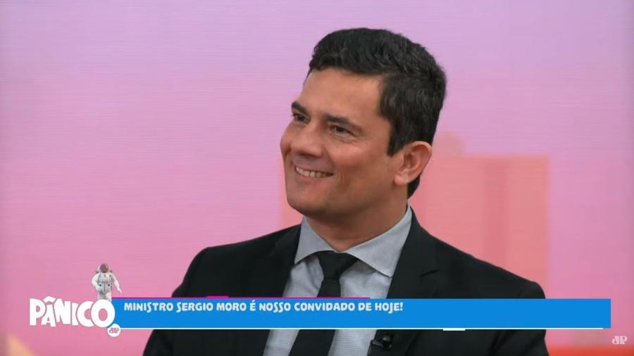 Sergio Moro na Jovem Pan - Reprodução/Jovem Pan