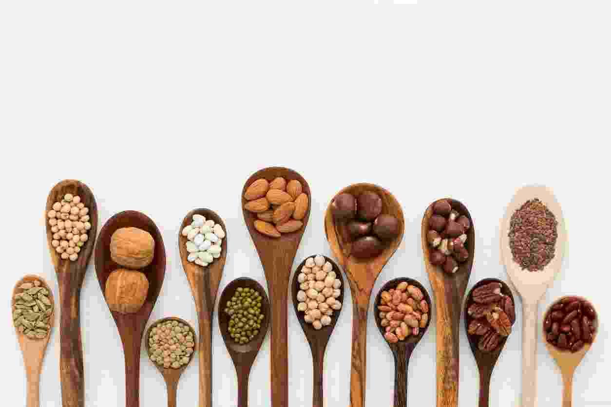 Oleaginosas, grãos e leguminosas - iStock