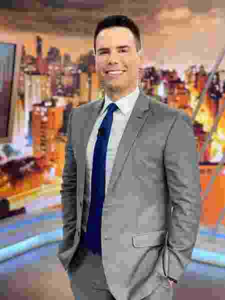 """O apresentador Luiz Bacci, do """"Cidade Alerta"""" - Reprodução/Instagram"""