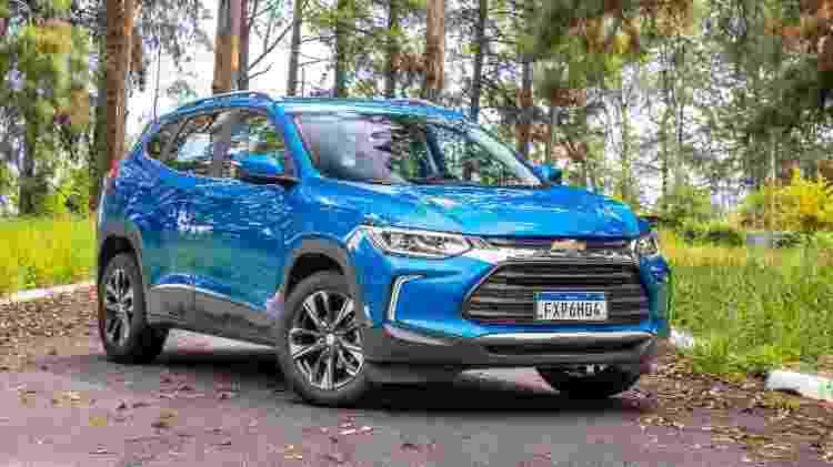 Chevrolet Tracker Premier 2021 Engate - Marcos Camargo/UOL - Marcos Camargo/UOL