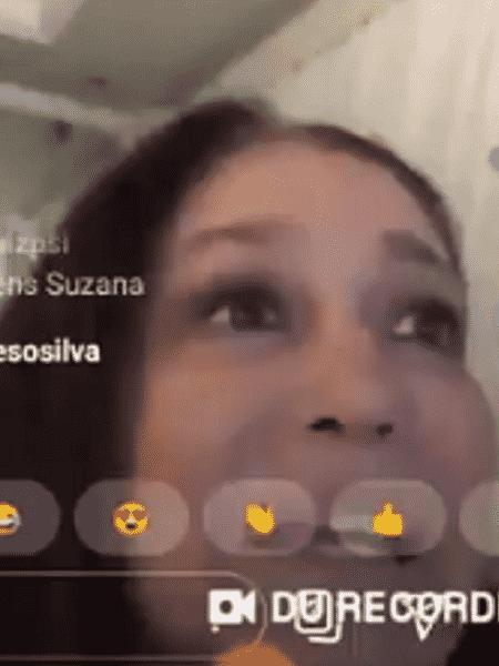 Hugo Gloss conversa com Susana Vieira - Reprodução/Instagram