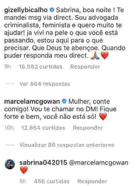 bbb_comentário_agressão_Natal - reprodução/ Instagram - reprodução/ Instagram