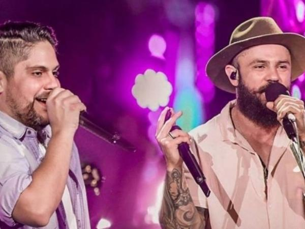 Jorge e Mateus farão uma live com o Leonardo e a dupla Bruno e Marrone para animar o fim de domingo