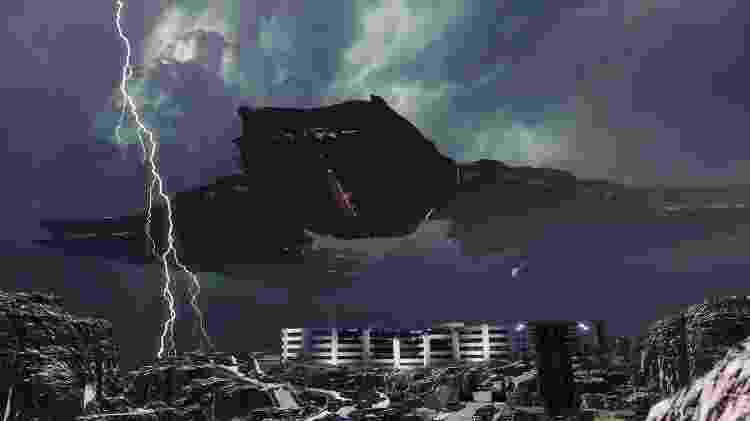 Disintegration nave - Divulgação - Divulgação