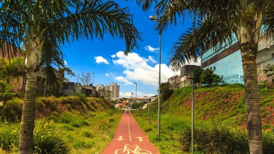 Parque Linear da Integração Zilda Arns, na Vila Ema, em São Paulo - Joca Duarte/Prefeitura