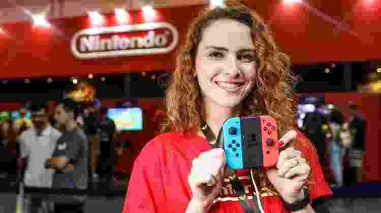 Estande Nintendo Switch BGS 2019 - Bruno Contrino/BGS - Bruno Contrino/BGS