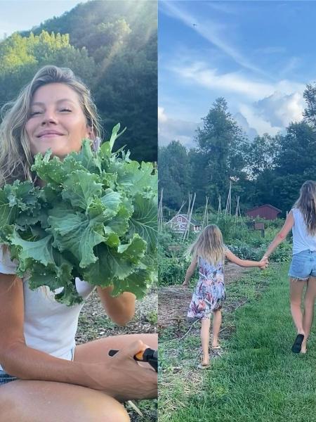 Gisele Bündchen e a filha, Vivian - Reprodução / Instagram