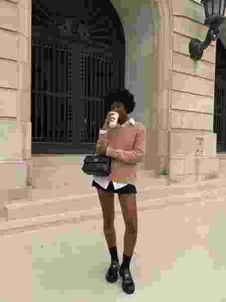 Street style   Chunky loafer - Reprodução/Instagram - Reprodução/Instagram