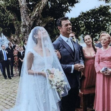 Sophie Charlotte compartilhou foto de seu casamento para homenagear o pai, Mário - Reprodução/Instagram