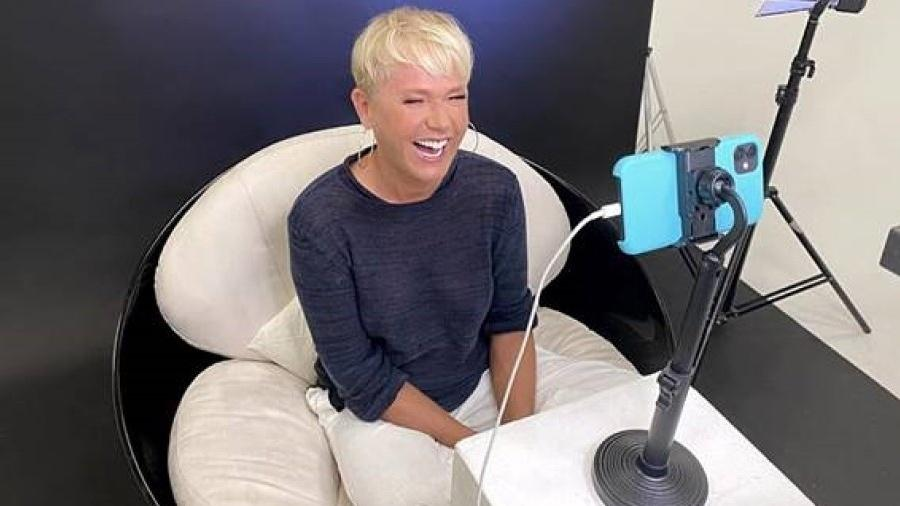 Xuxa dá entrevista para Evaristo Costa, da CNN Brasil - Divulgação