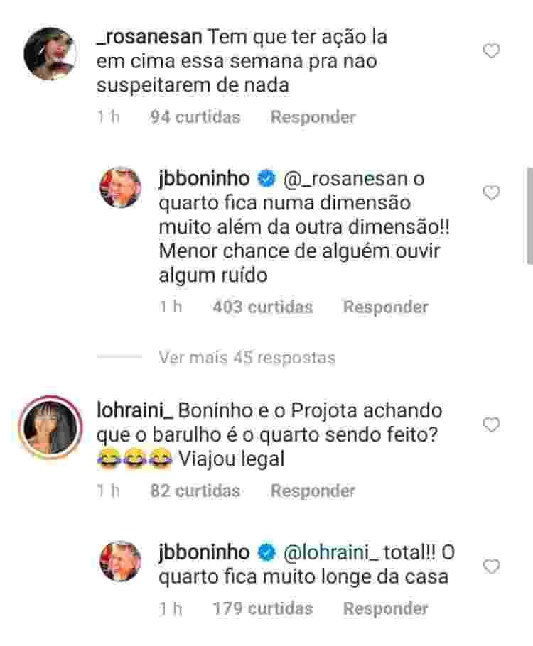 BBB 21: Boninho desmente ruídos do quarto secreto - Reprodução/Instagram - Reprodução/Instagram