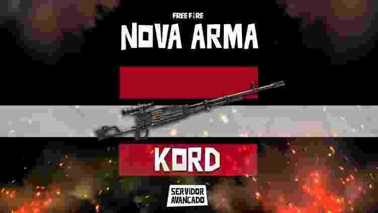 Free Fire Kord - Reprodução - Reprodução