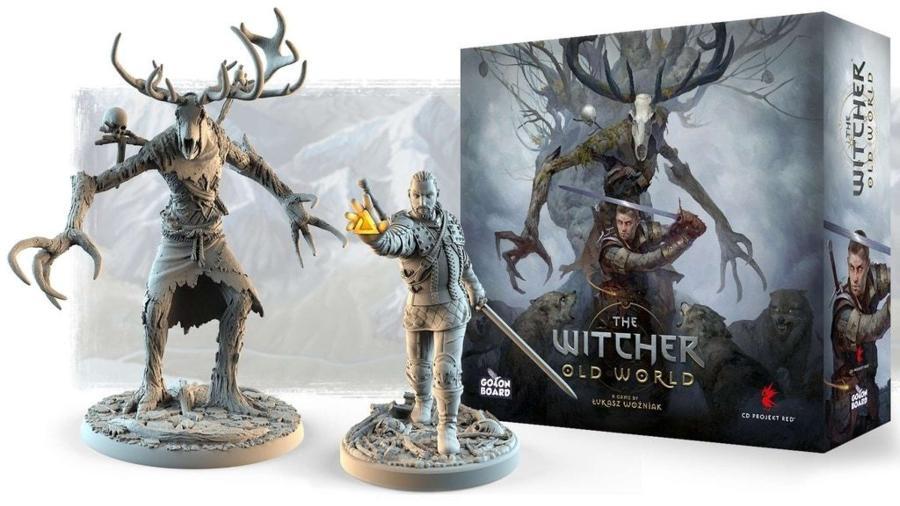 Jogo de tabuleiro The Witcher Old World - Divulgação/Conclave Editora