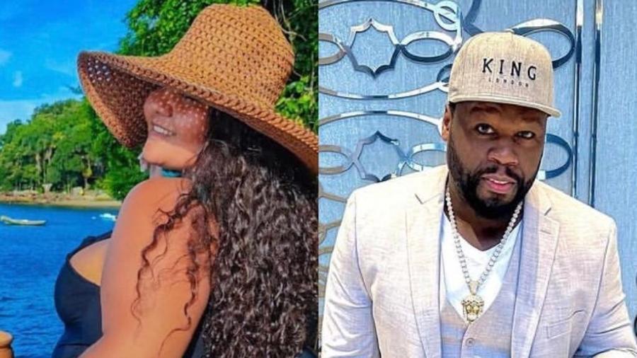 Renally Gabrielly repudiou a publicação de 50 Cent - Reprodução / Instagram