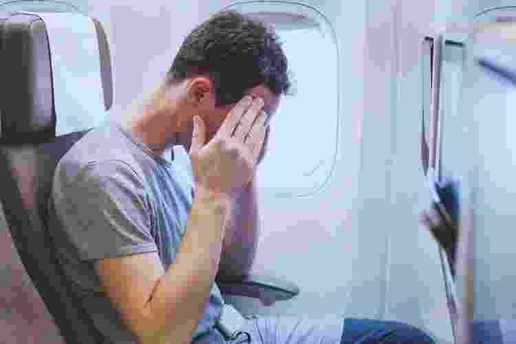Medo de viajar pode vir em várias manifestações físicas - Getty Images/iStockphoto - Getty Images/iStockphoto