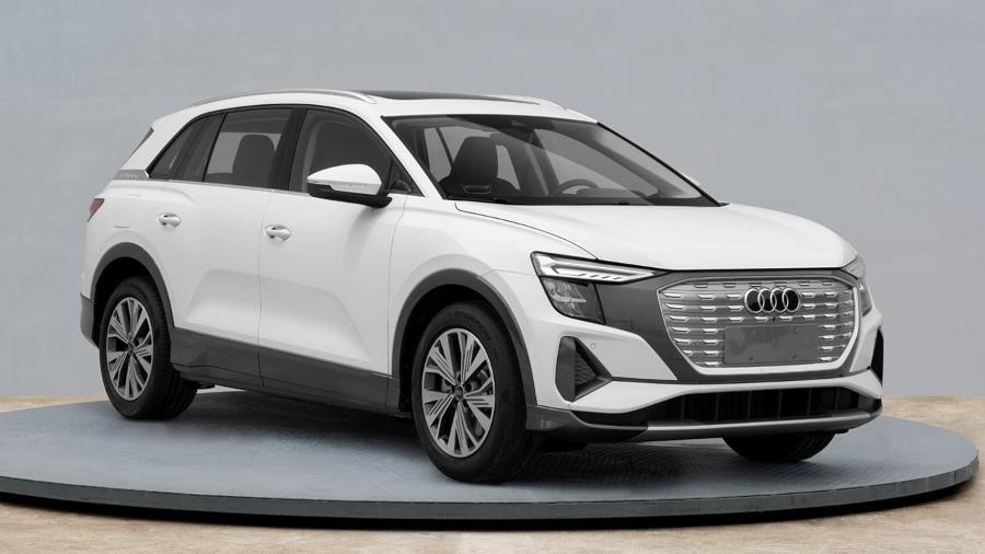 Audi Q5 e-tron 2022 tem fotos vazadas - Reprodução