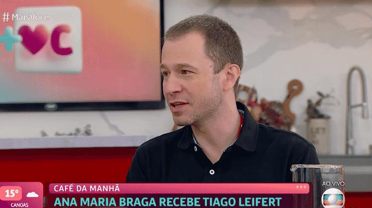 Tiago Leifert - Reprodução / TV Globo - Reprodução / TV Globo