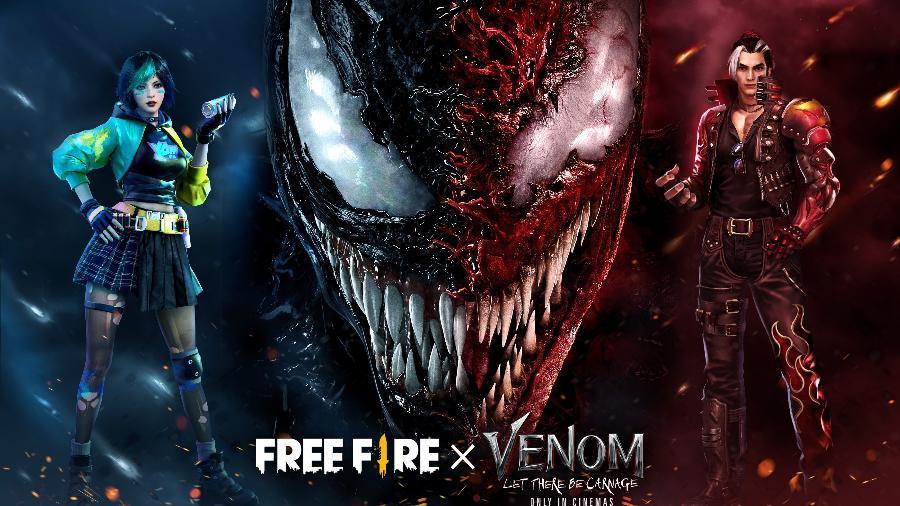 O anti-herói da Marvel será a estrela do novo evento de Free Fire - Divulgação/Garena