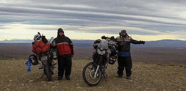 Fábio e Glauber, viajantes de moto - Arquivo pessoal - Arquivo pessoal