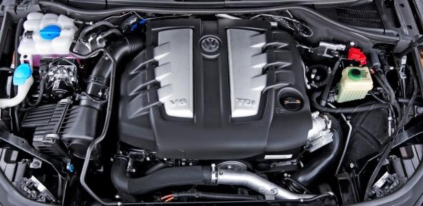 Motor V6 diesel usado no Touareg está irregular, aponta EPA - Divulgação