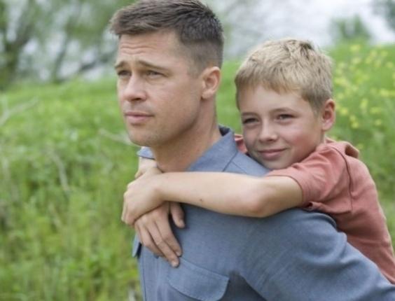 Brad Pitt em cena do filme