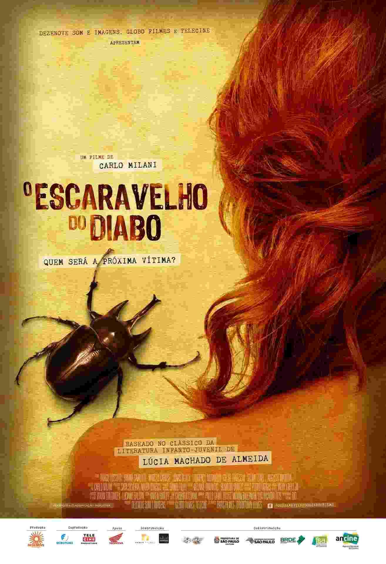 """Pôster do filme """"O Escaravelho do Diabo"""" - Divulgação"""