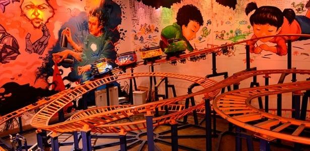 Twister Coaster, montanha-russa do parque HotZone, no Rio de Janeiro - Divulgação