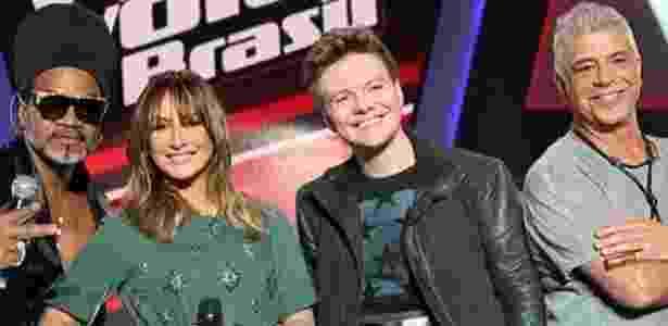 """Jurados do """"The Voice"""" e """"X Factor"""": programas musicais adotam critérios diferentes - Divulgação/Montagem"""