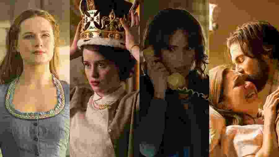 """Estreantes em 2016, """"Westworld"""", """"The Crown"""", """"Stranger Things"""" e """"This is Us"""" conquistaram vaga no Globo de Ouro - Divulgação/Montagem UOL"""