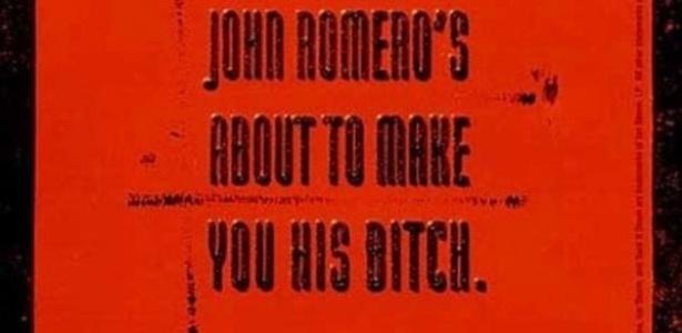 """John Romero foi inovador até em marketing mal pensado com """"Daikatana"""" - Reprodução"""