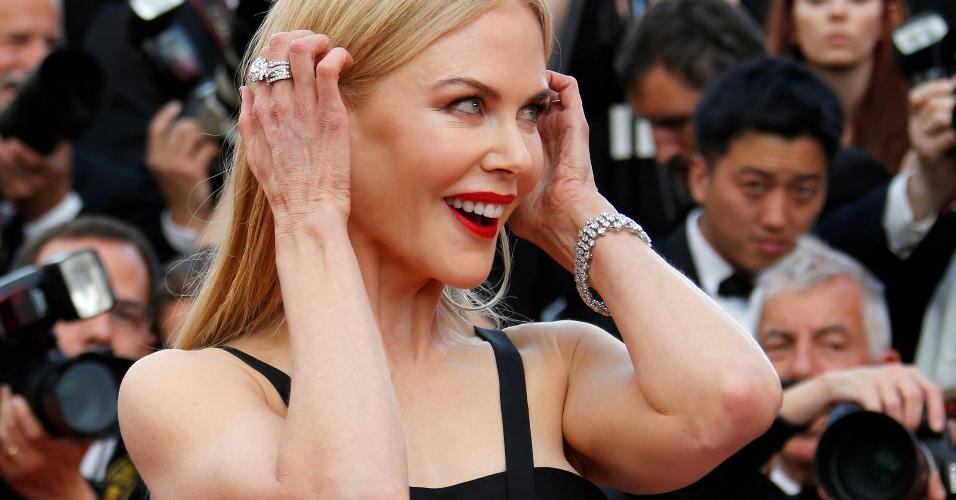 """Nicole Kidman na estreia de """"The killing of a sacred deer"""" no Festival de Cannes"""