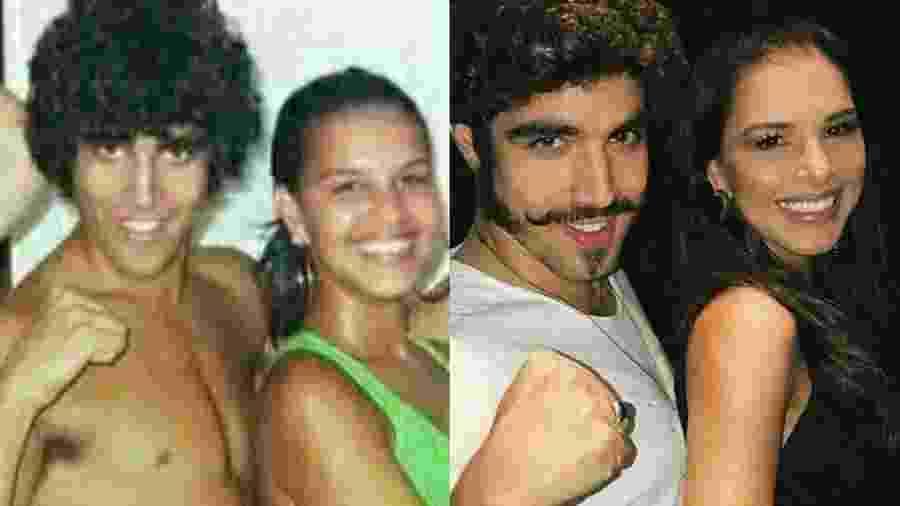 Caio Castro e Mariana Rios: antes e depois - Reprodução/Instagram
