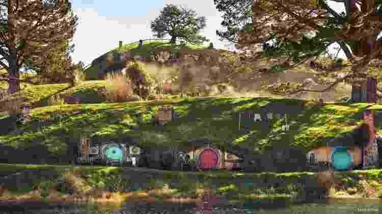 Hobbiton Movie Set, na Nova Zelândia - Sara Orme/Tourism New Zealand - Sara Orme/Tourism New Zealand