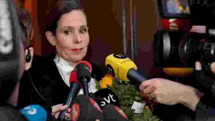 Sara Danius, que se afastou da academia do Prêmio Nobel - Reuters/BBC