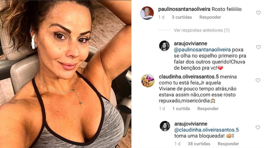 Viviane Araújo rebate críticas - Reprodução/Instagram