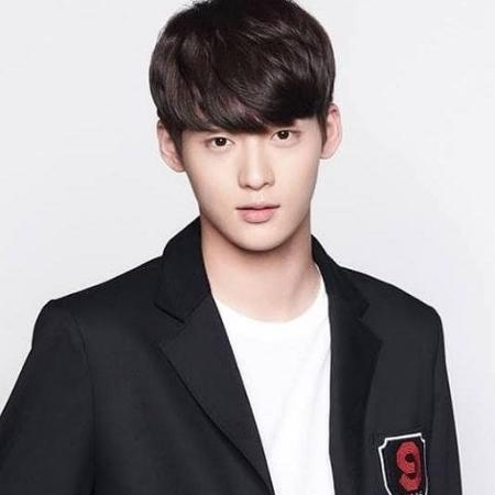 Kim Dong Yoon, do grupo k-pop Spectrum - Divulgação/WYNN Entertainment