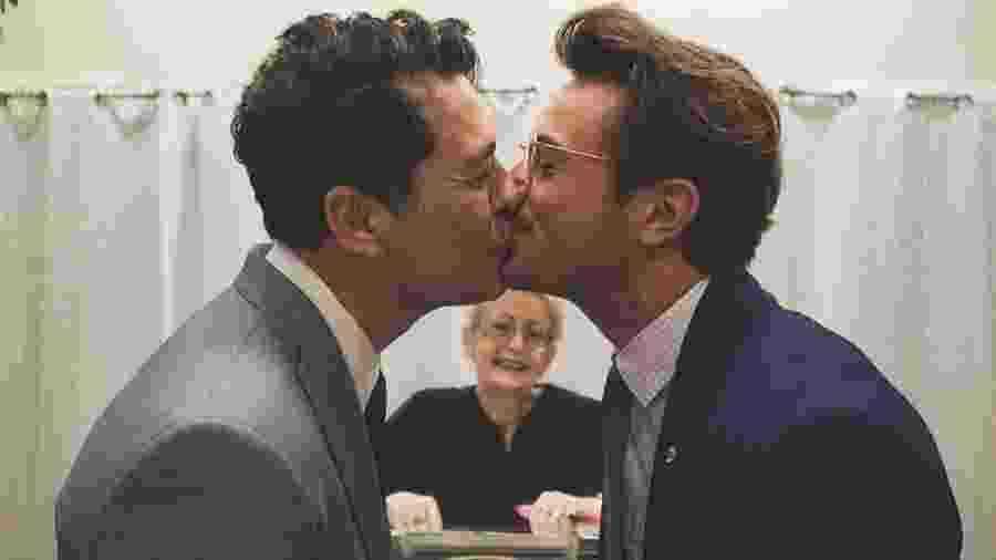 O novelista Tiago Santiago se casa com o chef Davi Stepurski nos Estados Unidos - Reprodução/Instagram/tiagosantiago