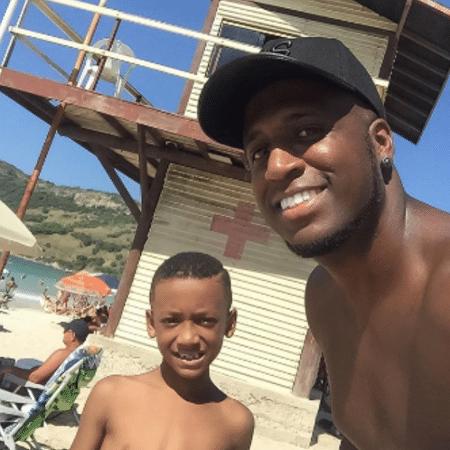 André Marinho com o filho, Lucas - Reprodução/Instagram