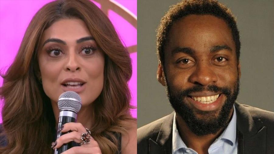 Juliana Paes e Lázaro Ramos - Reprodução/Globo e Divulgação