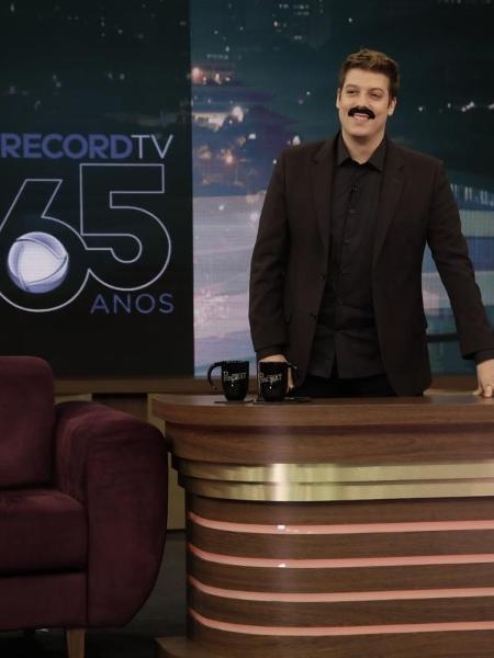 Único representante do humor, Fábio Porchat está de saída da Record  - Antonio Chahestian/Record TV