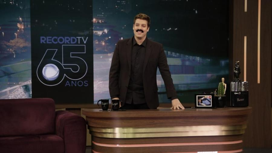 Fabio Porchat em seu programa na Record - Antonio Chahestian/Record TV