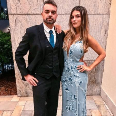 Márcio Kieling e Jacqueline Fernandez - Reprodução/Instagram