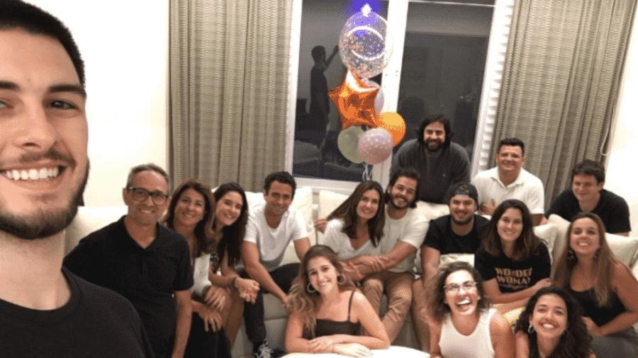 Fátima Bernardes mostra sua festa de aniversário surpresa - Reprodução/Instagram
