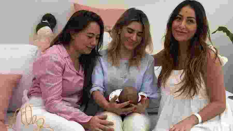 Sabrina Sato, Zoe, mãe e cunhada - gabipaludeto/Reprodução Instagram
