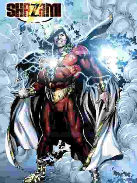 O visual de Shazam na HQ's - Reprodução/DC Comics - Reprodução/DC Comics