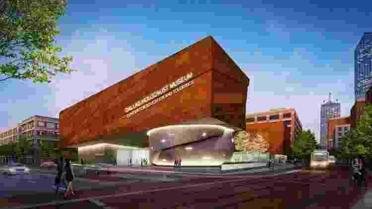 O novo Museu do Holocausto e dos Genocídios, em Dallas, previsto para setembro - Dallas Holocaust Museum/Omniplan  - Dallas Holocaust Museum/Omniplan
